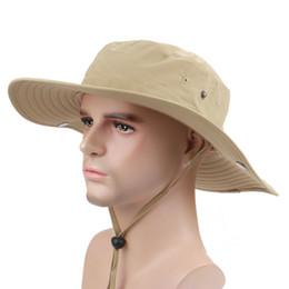 Pure color Bucket Hats Camo Fisherman Hats Sun Wide Brim Sun Fishing Bucket Caps Camping Hunting Hat