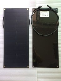 30W гибкая панель Celular солнечные фотоэлектрические ячейки Sunpower назад контакт maxeon C60 ячейка для морской лодки яхты от Поставщики flexible solar panel
