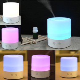 100ml LED Aroma Humidifier Aromatherapy Essential Oil Diffuser Ultrasonic Cool Mist Function for Home Office Bedroom Room ST98-6A