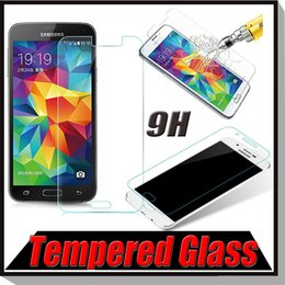 Wholesale 9H Real Premium Tempered Glass Screen Protector Protective Guard Film For iPhone Plus Samsung Galaxy S7 S6 Edge Note A9 A8 A7 MOQ