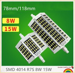 YON 10PCS SMD4014 R7S LED Lamp 8W 15W 78mm 118mm LED R7S Light Bulb 110-240V Energy Saving j78 J118 Replace Halogen Light Lampada
