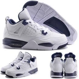 Wholesale With shoes Box Hot Sale Retro VI Legend Blue Columbia Military Blue Men Basketball Sport Sneakers Kids Shoes