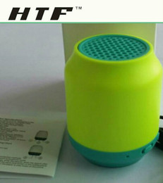 wholesale good mini wireless bluetooth music player mini subwoofer speaker stereo HIFI music speaker support handfree call with retailbox