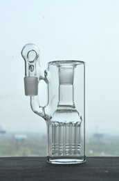 Functional Glass Ash Catcher With Tree Percolator 18.8 mm Joint For Glass Water Pipes Glass Bong cheap