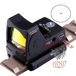 Wholesale NEW Promotion Hot Sale Trijicon Style Red Dot Sight Can adjust the brightness With Switch For Hunting