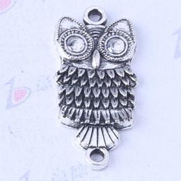 Owl charms antique Silver bronze alloy zinc Pendant DIY jewelry pendant fit Necklace 200pcs lot 3475