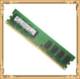 Wholesale Samsung Desktop memory original GB PC2 U DDR2 MHz PC RAM G pin