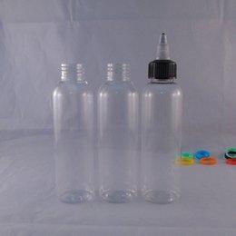 120ML E liquid PET Bottles Transparent Pen Shape Unicorn Bottles E juice Plastic Dropper Bottles Childproof Twist Off Caps High Quality