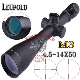 Wholesale 2016 NEW Leupold Mark M3 x50 mm AO illuminated Mildot side wheel for hunting scope