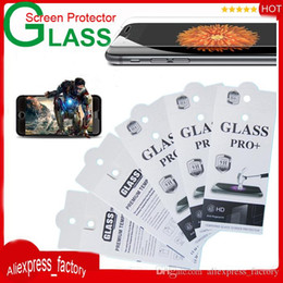 Wholesale With Retail Package H Premium Explosion Proof Tempered Glass Screen Protector For iPhone S Plus S S Galaxy S7 S6 Edge Note