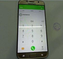 Wholesale New arrive dhl s7 edge MTK6582 S7 edge G G Smartphone fake4G LTE Real GRAM GROM CPU s7 edge mp MP