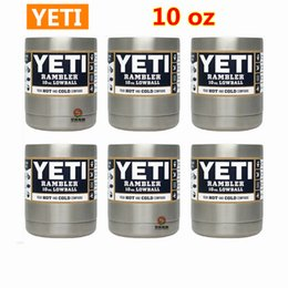 Wholesale Yeti Colsters Rambler Cups oz With Stainless Steel Material Vacuum Insulation Refrigeration