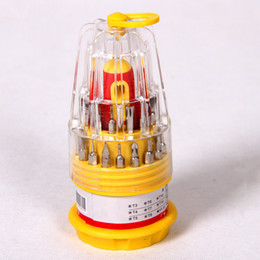 tower style household multi-function 31 in one combination screwdriver tool screwdriver set manual tool for PC TV repair