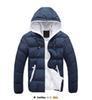 new fashion Winter men jackets jacket warm coat Mens Coat Brand Sport Jacket ,Winter Down Parkas Man's Overcoat Size M-3XL