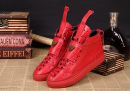 Wholesale Patrick Mohr sneakers the latest sports shoes casual shoes high shoes leather high top fashion shoes size5