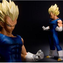 Wholesale 26cm Dragon Ball Z MASTER STARS PIECE MSP Super Saiyan vegeta Figure DBZ PVC Action Figure Collection Model Toy