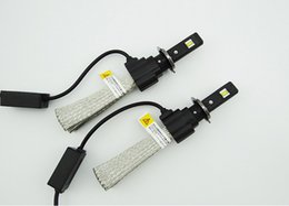 1 Set H4 9003 HB2 40W 6000LM CREE LED Phare 4SMD LUXEON MZ CHIP H / L Beam Xenon Blanc 6500K 12 / 24V Lampe H7 H11 H13 9004/9007 LED Kit à partir de blanc xénon conduit h7 fournisseurs
