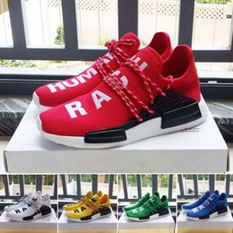 Wholesale 2016 Pharrell Williams X NMD HUMAN RACE Running Shoes Best Quality Men s Breathability NMD Running Sneakers Outdoor Fashion Jogging Shoes
