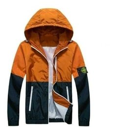 Wholesale 2016 Men s Jacket Thin Men s island Coats Bomber Jacket Windbreaker Brand Clothing Veste Homme Jeans Tactical Stone Jacket