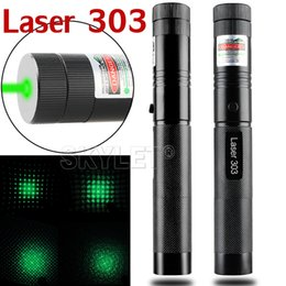 Wholesale High Power nm Laser Pointers Adjustable Focus Burning Match Laser Pen Green Safe Key Without Battery And Charger