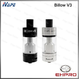 Billow rta en Ligne-Ehpro Billow V3 RTA Atomiseur 4.6ml 100% Original Ehpro Eciggity Billow V3 Réservoir 2 Post Velocity Style Deck Bottom Cyclops Contrôle du débit d'air
