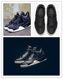 Wholesale cheap high quality new men s Retro basketball shoes Premium Dark Horse Pure black leather stitching luxury sneakers size8