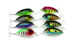 "2016 PS Painted Fishing bait 3D Eyes Crank Lures 2.75""-7cm 0.338oz-9.6g High Quality Casting Fly Fishing lure"
