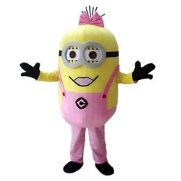 Wholesale high quality Adult size kinds of style Despicable me minion mascot costume Minion mascot costume EPE material