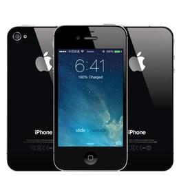 Refurbished original Apple iPhone 4S Unlocked 3G Cellphone IOS 8 Dual Core 3.5 Inch 16G 32GB ROM 8MP GPS WIFI Smartphone