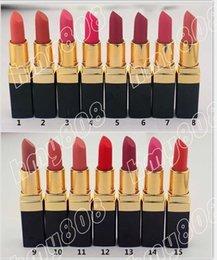 Wholesale New Brand Makeup Matte Lipstick Nutritious Frost Lipstick Popular Colors Have Different Colors