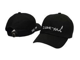 I Love You Ball Caps Cool Hip Hop Snapbacks Embroidery Baseball Cap Adjustable Snapback Men Women Summer Sun Hats Visor Hat