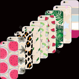 Wholesale-Popular Painting Sex Lip Cactus Silicon Phone Cases Cover For  iPhone 6 iPhone 6S iPhone6S iPhone6 4.7'' Case Cases