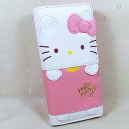 KT Hasp Wallet Purse 2016 New Cute Pu Bow Pink Long Size