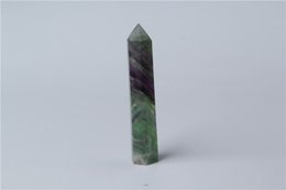 HJT 49g hot sell New crystal point natural fluorite dream quartz POINTS HEALING crystal quartz wands for selling