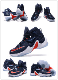 Wholesale With Box Lebron XIII professional Sports Shoes Independence Day the Lebron Basketball Shoes Sneakers Outdoor