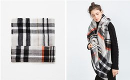 Wholesale New Spanish ZA brand scarf New women s scarves and shawls famous brand140 fashion shawl large square