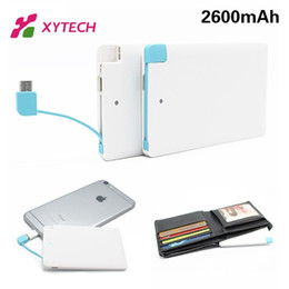 Wholesale Ultra Thin Powerbank mAh Portable Charger Backup External Battery Mobile USB Emergency Power Bank for xiaomi mi5 pro redmi