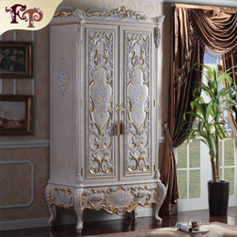 mobiliario de lujo muebles de la reina barroco guardarropa european palace bedroom furniture luxury rococo style wardrboe