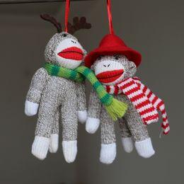 Christmas plush dolls cute handmade toys wool dolls Christmas tree decorations Christmas crafts