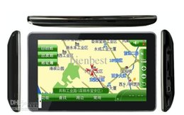 "7.0"" navigator Windows Car GPS CE with 4G free maps Bluetooth version DHL Free"