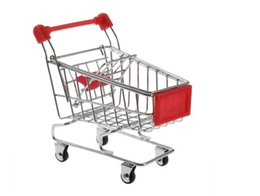 Wholesale Kids Toys mini Shopping Cart model Iron material