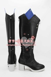 Wholesale CLOSERS Yuri Seo Cosplay Boots shoes shoe boot NM314 Halloween Christmas