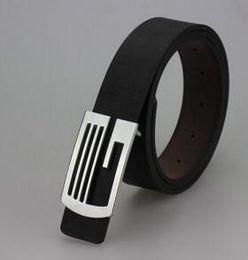 8color Hot 2016 Korean Women's belt smooth buckle belt men's casual leather belt business