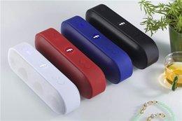 Wholesale Pill XL Bluetooth Speaker Lx Mini Pulse Speakers Built in Mic Handsfree Support TF Card USB Disk FM Radio Subwoof wireless speaker Macs