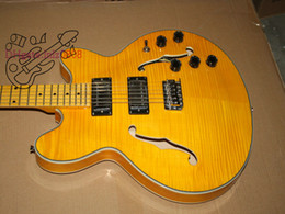 Free Shipping Antique Custom Shop Lemon yellow Electric Guitar Wholesale guitar