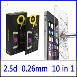 Wholesale For Galaxy S7 LG K7 Tempered Glass Screen Protector Film Iphone s Plus or on5 J7 G530 Grand Prime Mix Models Paper Package
