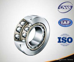 Descuento bola jaula Alta velocidad de rodamientos de acero, rodamientos de contacto angular, nylon \ jaula elástica 5201,5202, 3056201,3056202