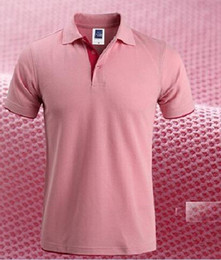 Wholesale Pearl Cotton Short Sleeved Brand Man Polo Shirt Double Color Collar High Quality Camisa Barcelona Fashion Men Polo Shirt