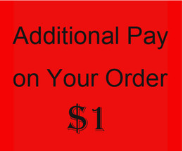 Wholesale Additional Pay on Your Order Checkout Review Llink For BTS Order Mixed Order