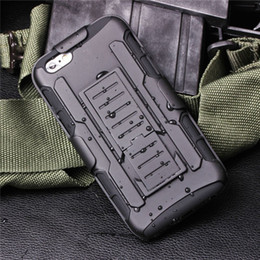 Wholesale Future Armor Impact Hybrid Case For iphone plus Note Case With Belt Clip Holster Kickstand Combo Case LG K7 K10 V10 STYLO Opp Package